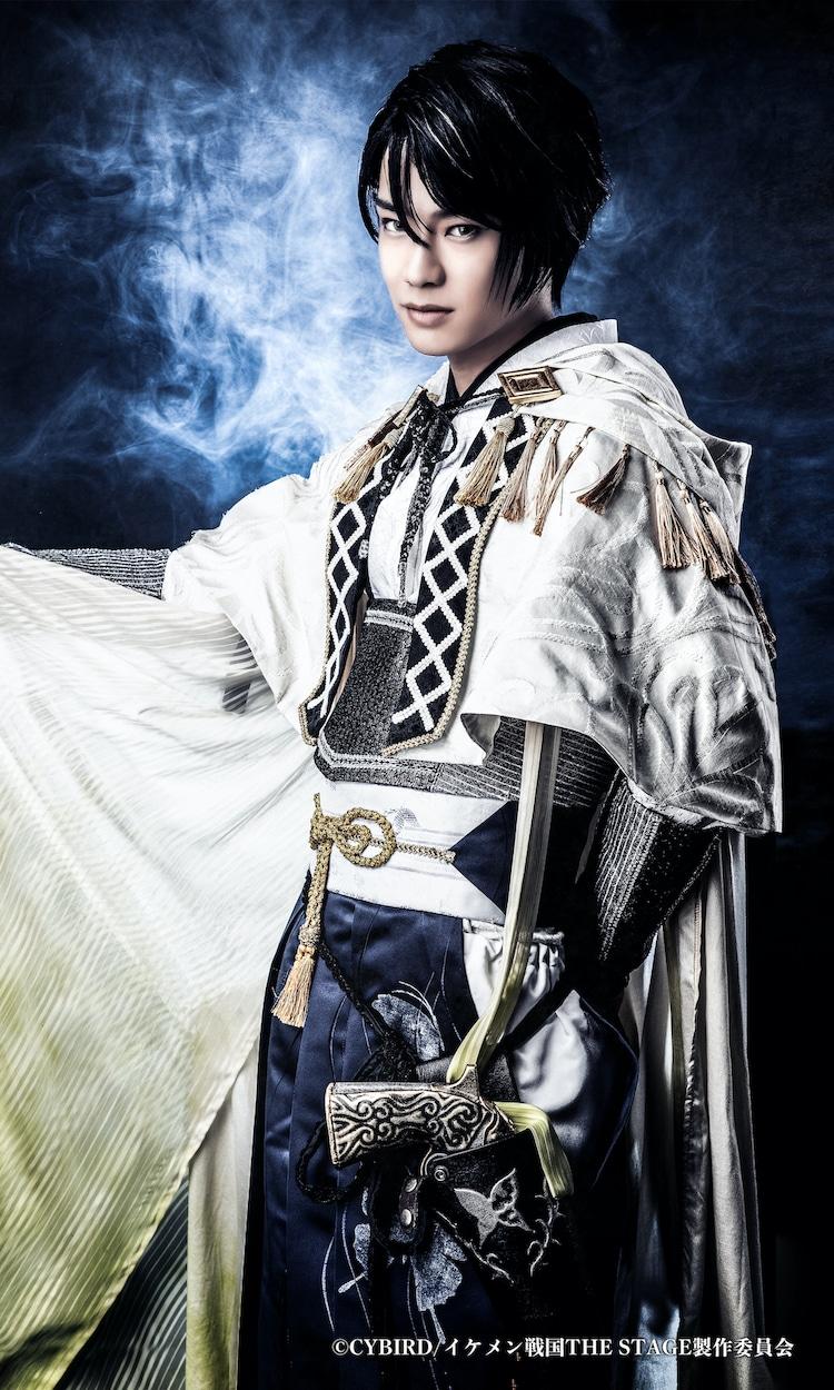 秋沢健太朗扮する帰蝶。