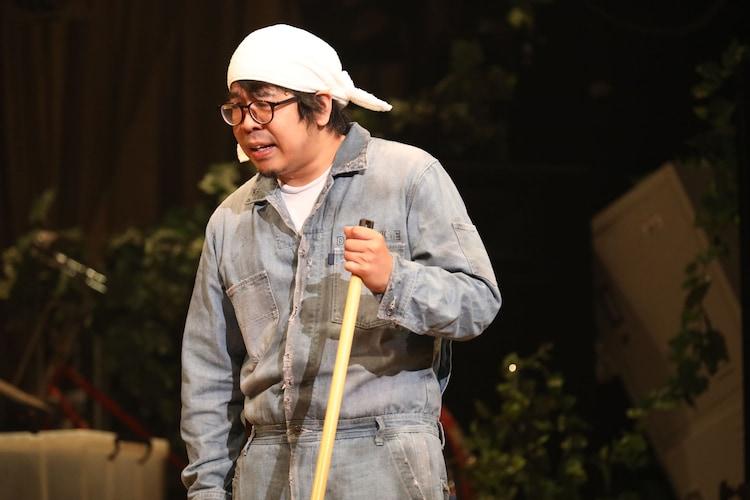 本多劇場グループ next「DISTANCE-TOUR-」より、川尻恵太。(撮影:和田咲子)
