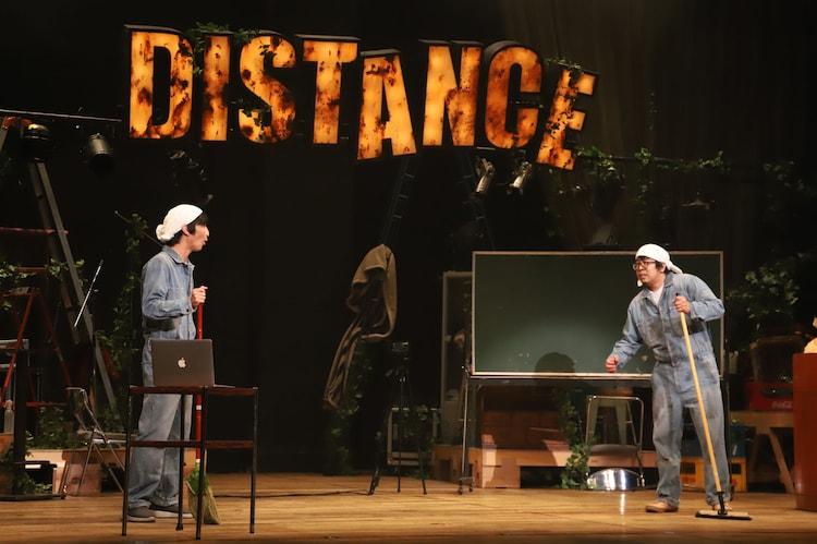 本多劇場グループ next「DISTANCE-TOUR-」より、左から永島敬三、川尻恵太。(撮影:和田咲子)