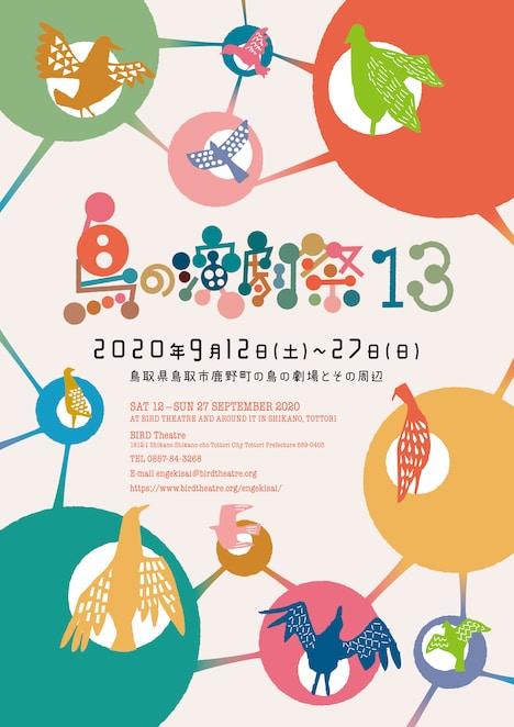 「鳥の演劇祭13」ビジュアル