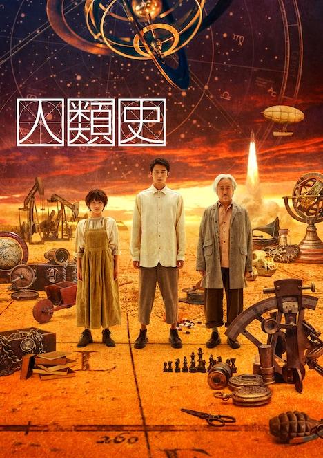 KAAT神奈川芸術劇場プロデュース「人類史」ビジュアル