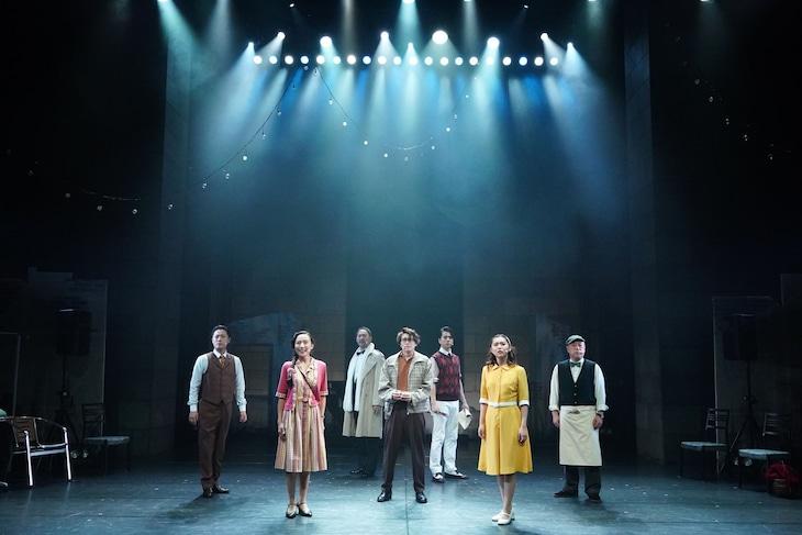 conSept Musical Drama #4「Fly By Night~君がいた」ゲネプロより。(撮影:岩田えり)