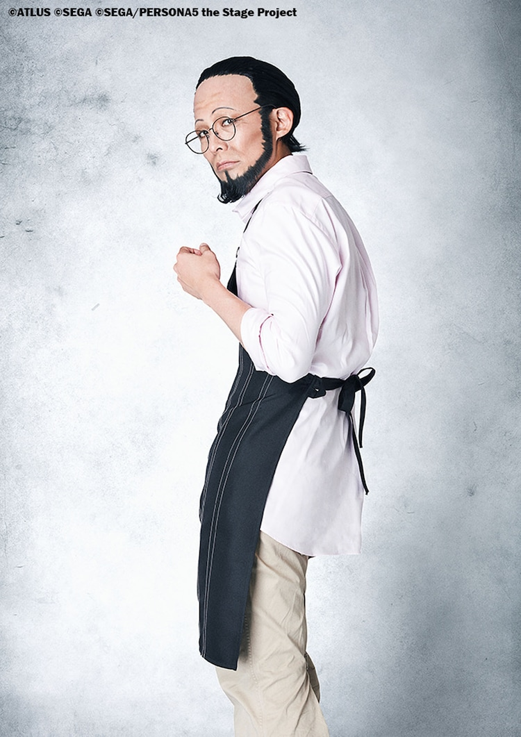 森山栄治扮する佐倉惣治郎。