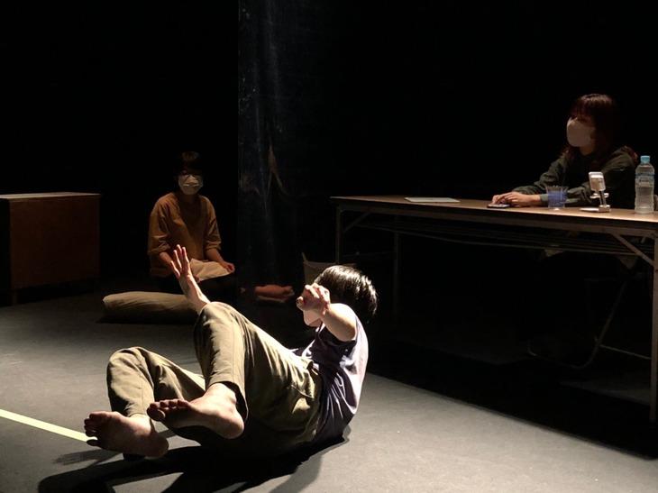 ツクネル tsukuneruの発表会「あなたのための演劇」稽古の様子。