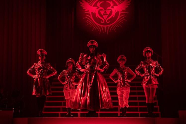 PARCO produce「東京ゲゲゲイ歌劇団 vol.IV『キテレツメンタルワールド』」東京公演の公開舞台稽古より。(撮影:ARISAK)