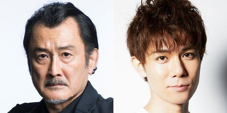 左から吉田鋼太郎、柿澤勇人