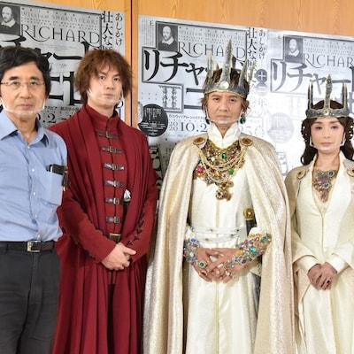 歴史劇シリーズ完結作「リチャード二世」開幕に岡本健一「12年かけて本番に挑む」