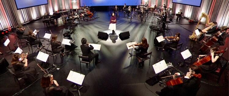 NHK BSプレミアム「映画音楽はすばらしい!」より。(c)NHK