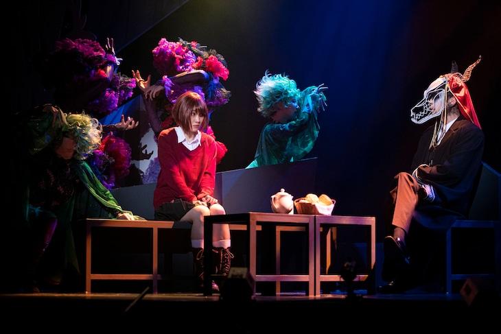舞台「魔法使いの嫁 老いた竜と猫の国」ゲネプロより。