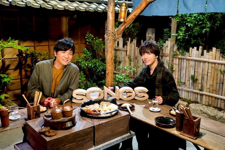 「『SONGS』第554回 森山直太朗 山崎育三郎×『エール』がつないだ二人の歌」より。(写真提供:NHK)