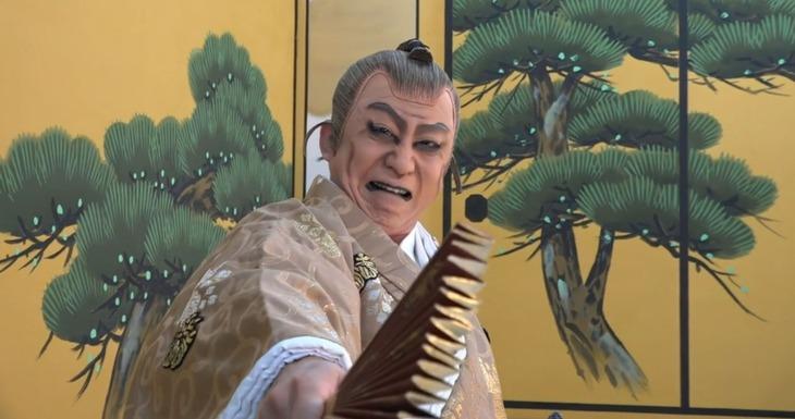 「図夢歌舞伎『忠臣蔵』」第1回「大序から三段目」より。(c)松竹株式会社