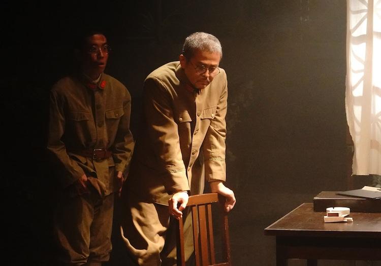 オールスタッフプロデュース 音楽劇「獅子吼」雷神チームの公演より。(撮影:岩田えり)