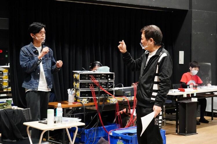 KOKAMI@network vol.18「ハルシオン・デイズ2020」稽古場の様子。(撮影:田中亜紀)