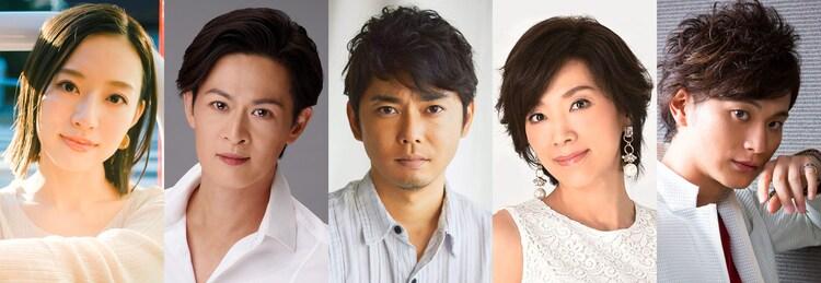 J-CULTURE FEST presents「千年のたまゆら 〜ソング&ダンス 装束新春コレクション〜」の出演者。