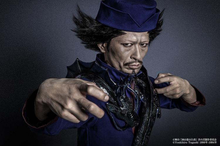 榎木智一扮する青龍。