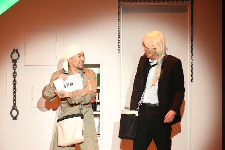 「AD-LIVE ZERO」吉野裕行・鈴村健一ペアの夜公演より。