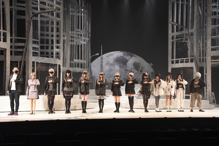 「舞台 少女ヨルハVer1.1a」初日前挨拶より。