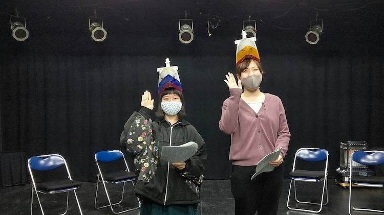 渡辺源四郎商店 第34回公演「洞爺丸ものがたり」稽古場の様子。