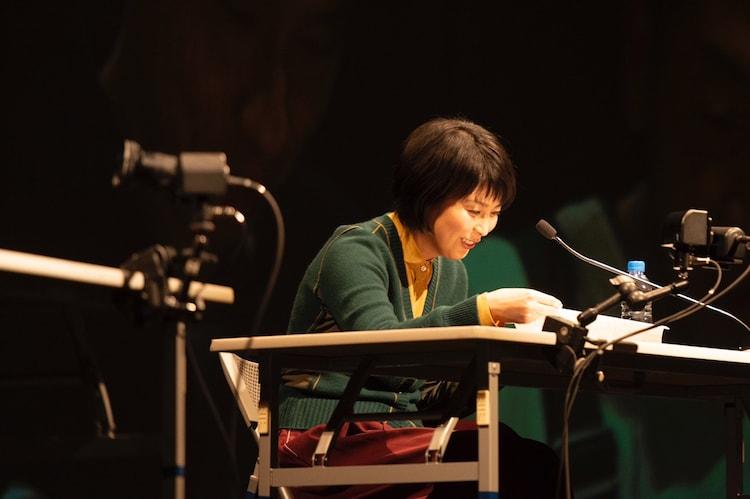 岩井秀人(WARE)プロデュース「いきなり本読み! in 東京国際フォーラム」より。松たか子。(c)平岩と毛利