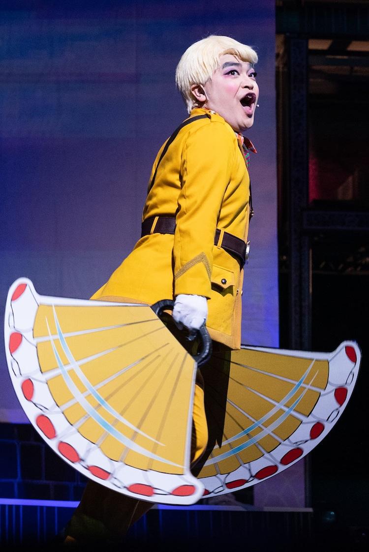 「舞台『パタリロ!』~霧のロンドンエアポート~」より。