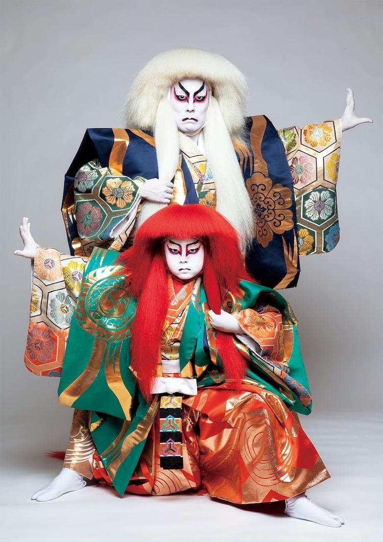 「連獅子」ビジュアル(撮影:篠山紀信)
