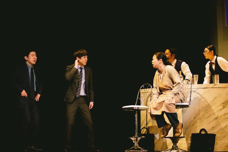 山田ジャパン 1月公演「優秀病棟 素通り科」より。
