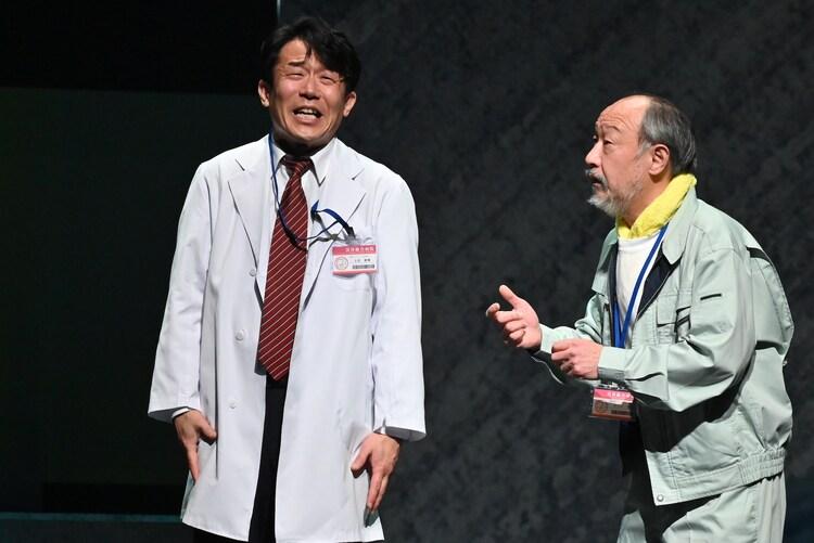 「舞台『ドクター・ブルー』~いのちの距離~」より。(c)舞台「ドクター・ブルー」公演実行委員会