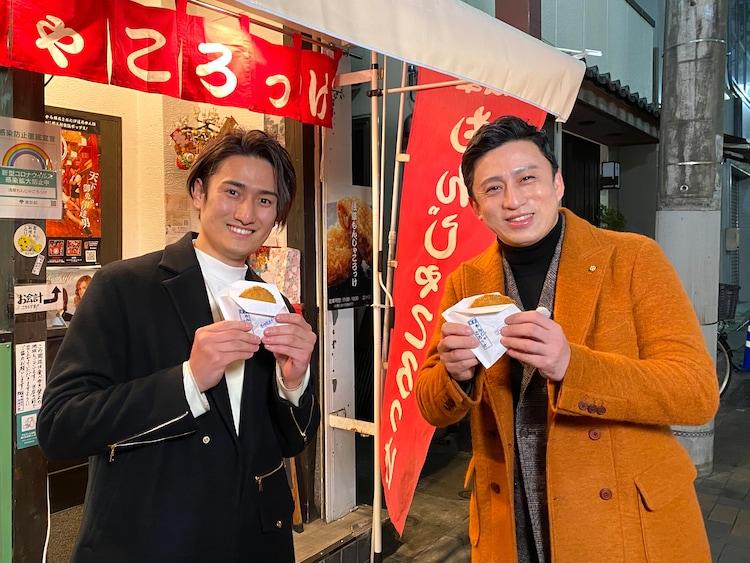 「ヒルナンデス!」より、左から中村隼人、松本幸四郎。(c)日本テレビ