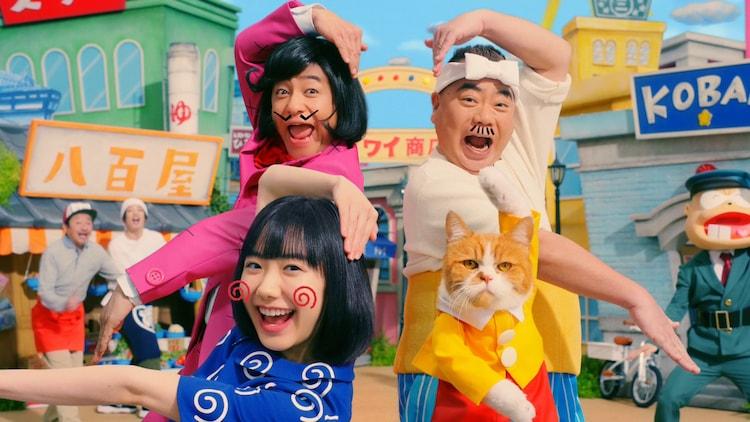 ワイモバイルの新テレビCM「イヤミ登場」編より。