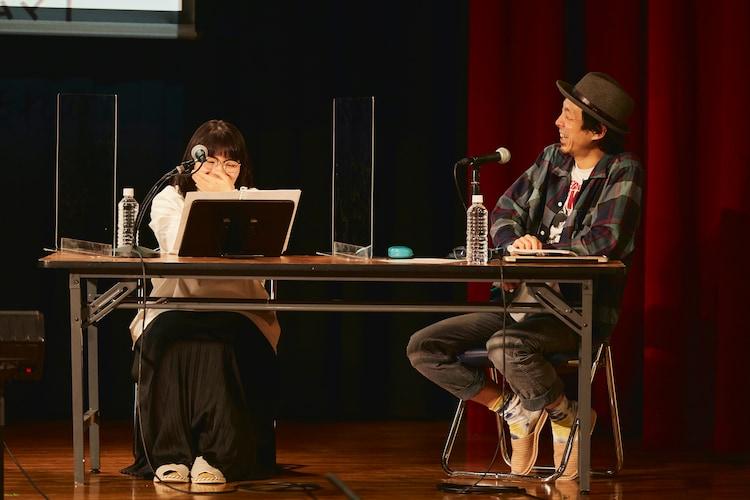 岩井秀人(WARE)プロデュース「いきなり本読み! with 宮藤官九郎」より。(c)平岩と坂本