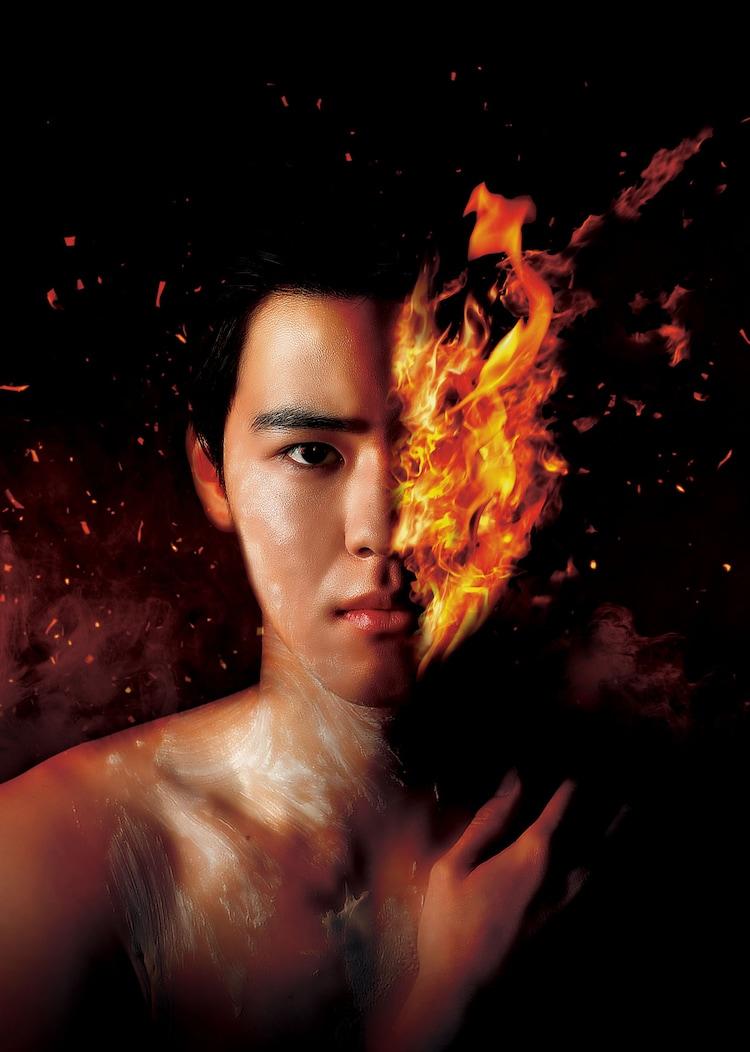 「火の顔」ビジュアル