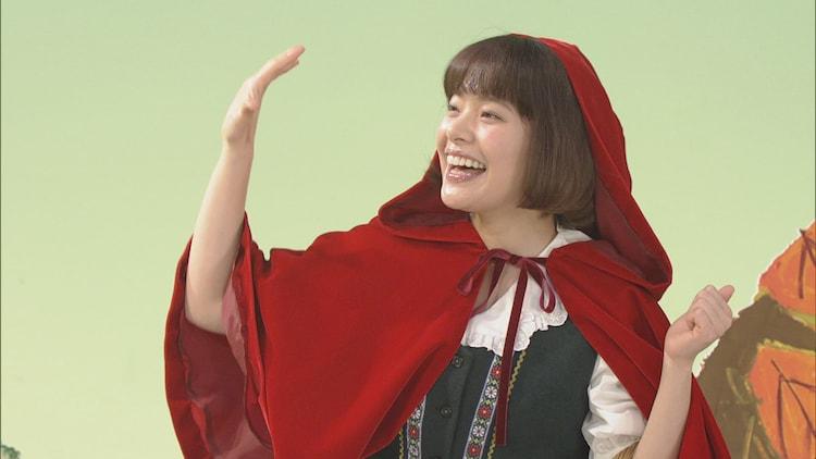 「おはなしのくに 岸井ゆきの×『赤ずきん』(グリム童話)」より。(提供:NHK)