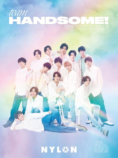 NYLON JAPAN別冊「NYLON SUPER VOL.4 -SUPER HANDSOME LIVE 2021 OVER THE RAINBOW-」(カエルム)より。(c)NYLON SUPER