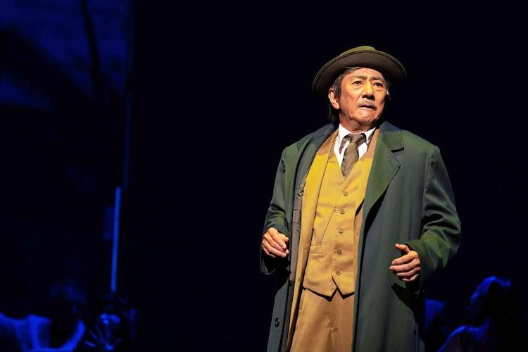「ミュージカル『生きる』2020年」(主演:市村正親)より。(撮影:引地信彦)