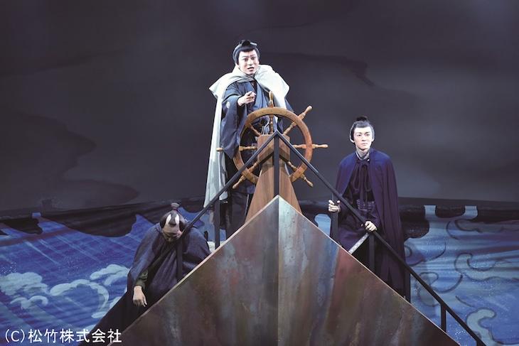 シネマ歌舞伎「三谷かぶき 月光露針路日本 風雲児たち」より。(c)松竹株式会社