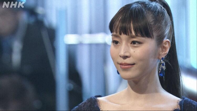 NHK BSプレミアム「映画音楽はすばらしい!II」より、平野綾。(写真提供:NHK)
