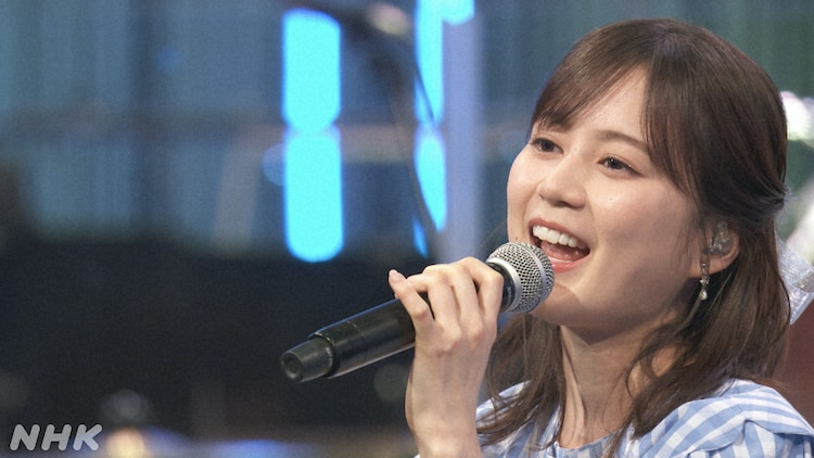 NHK BSプレミアム「映画音楽はすばらしい!II」より、生田絵梨花。(写真提供:NHK)