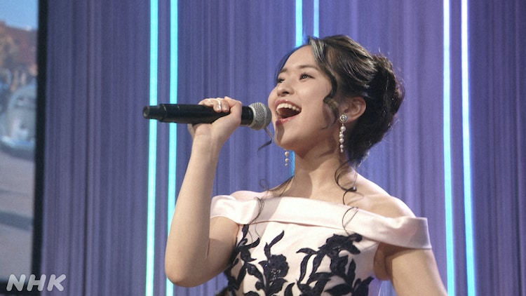 NHK BSプレミアム「映画音楽はすばらしい!II」より、小南満佑子。(写真提供:NHK)