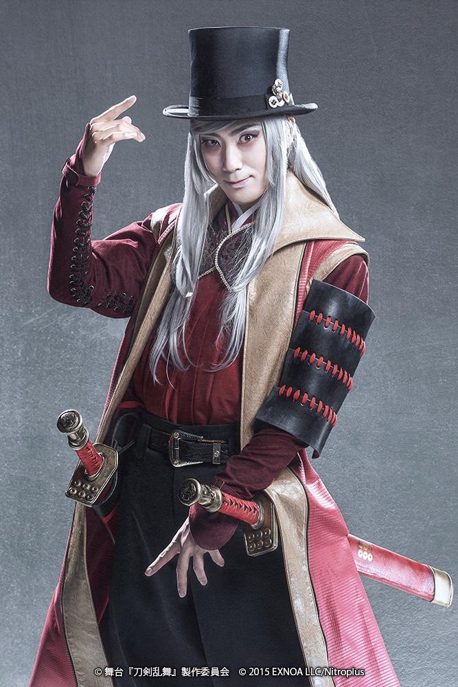 高田淳扮する海野六郎。