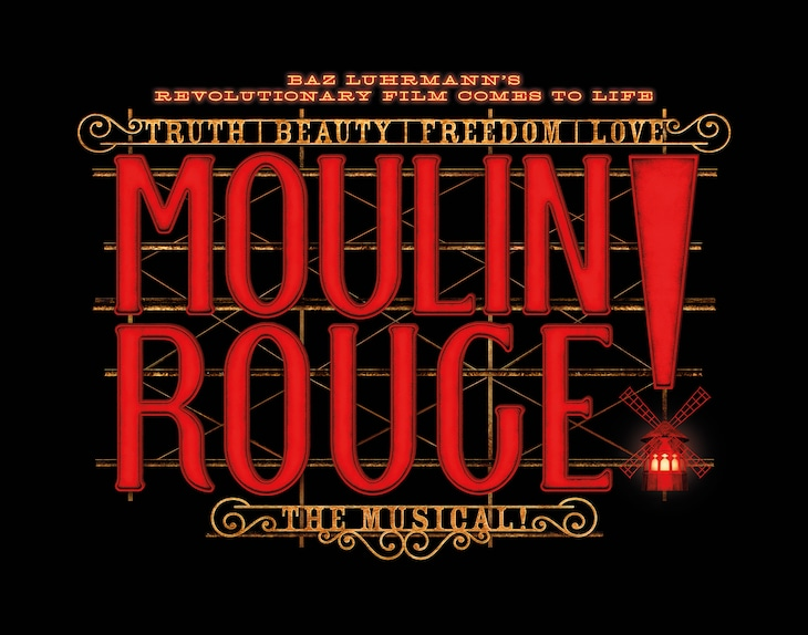 「ムーラン・ルージュ! ザ・ミュージカル」ロゴ