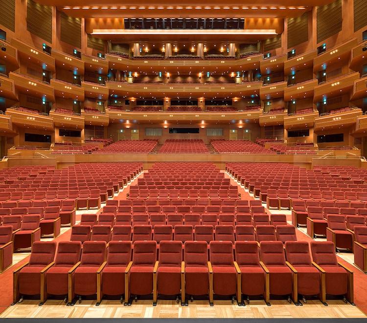 愛知県芸術劇場 大ホールの様子。(c)愛知芸術文化センター