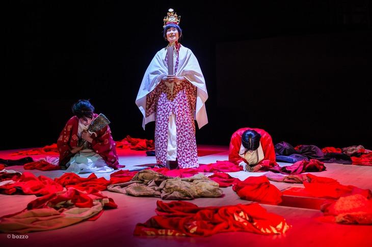 木ノ下歌舞伎「義経千本桜―渡海屋・大物浦―」東京公演(2021年)より。(c)bozzo