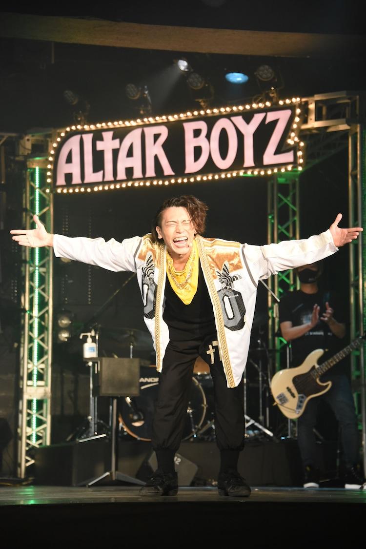 「ALTAR BOYZ(アルターボーイズ)」Team LEGENDのゲネプロより。