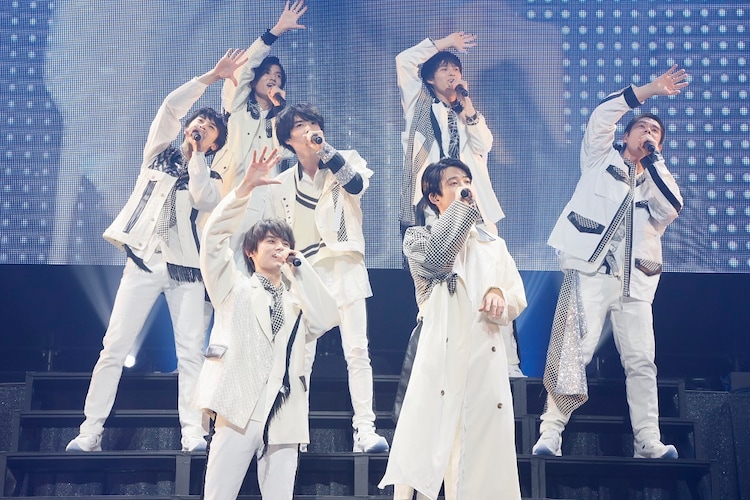 "「Amuse Presents SUPER HANDSOME LIVE 2021 ""OVER THE RAINBOW""」より。"
