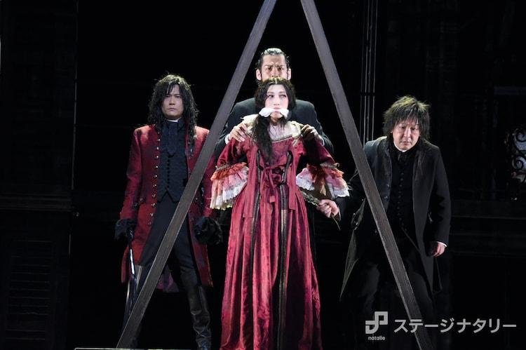 舞台「サンソンールイ16世の首を刎ねた男ー」ゲネプロより。