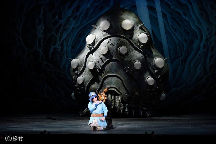 新作歌舞伎「風の谷のナウシカ」より。(c)松竹