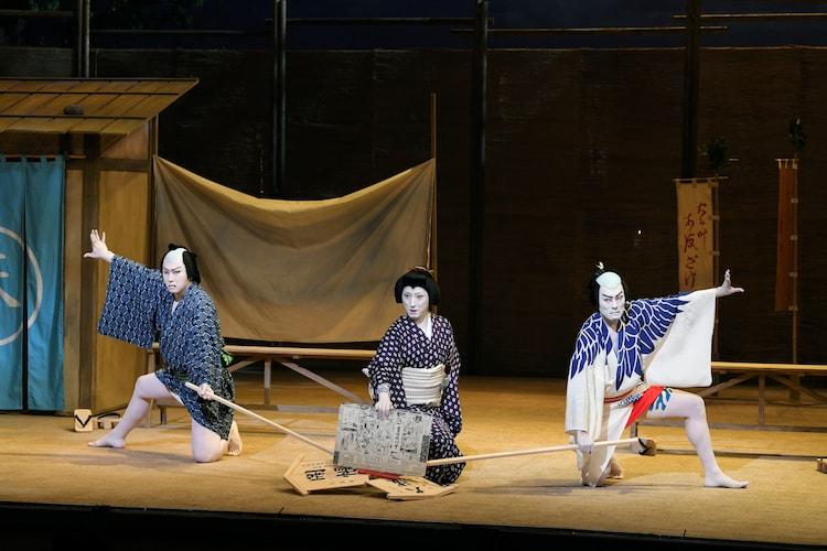 「渋谷・コクーン歌舞伎 第十七弾『夏祭浪花鑑』」より。(c)松竹