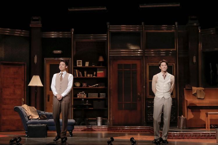 ミュージカル「ダブル・トラブル」ハリウッドチームのオープニングトークの様子。(撮影:岡千里)