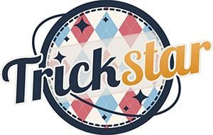 Trickstarのロゴ。