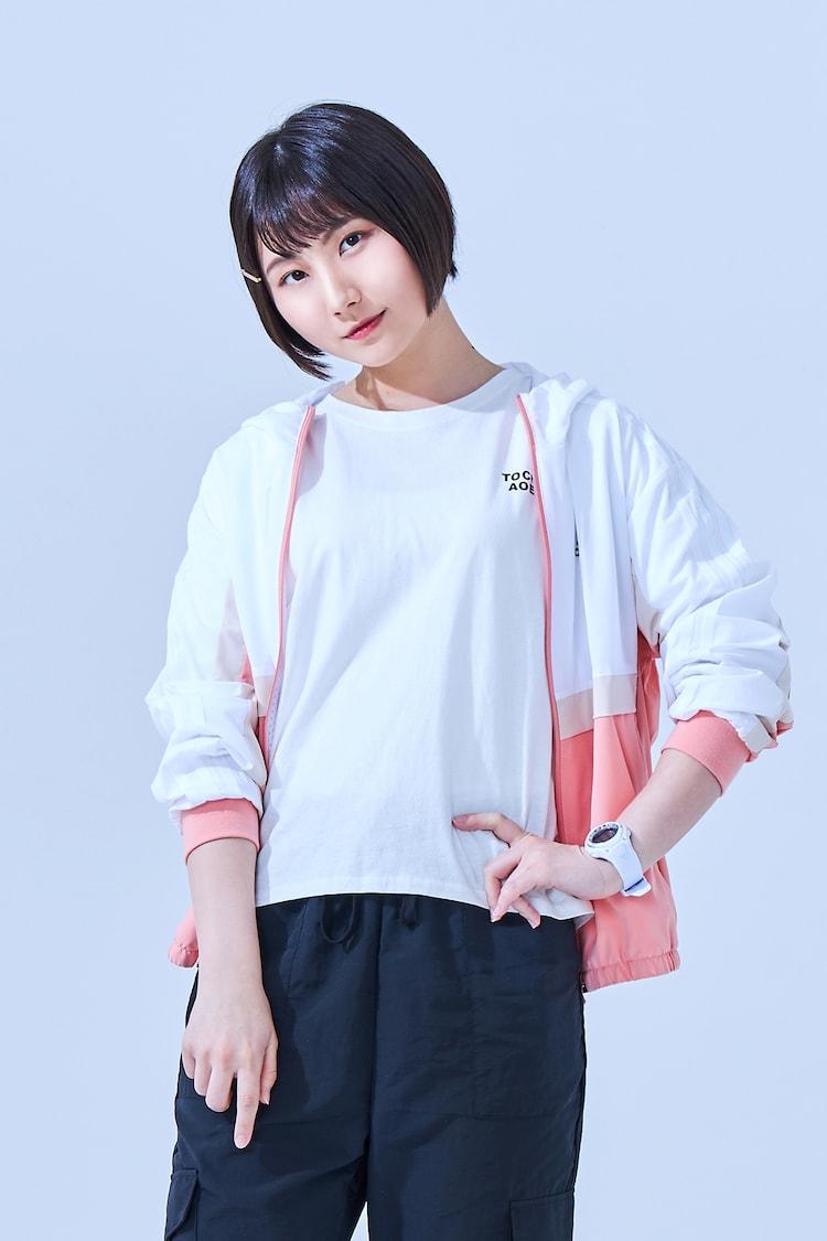 千歳ゆう扮する勝田葉菜子。